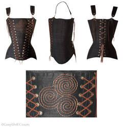 Newgrange corset by Illahie