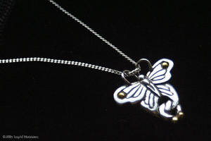 Celtic Butterfly Pendant by Illahie