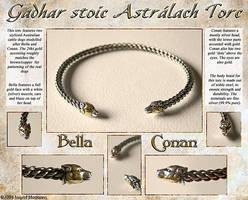 Gadhar stoic Astralach Torc by Illahie