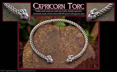 Capricorn Torc by Illahie