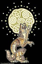 Celtic Werewolf by Illahie