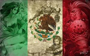 Dia de la bandera mexicana by EroSui