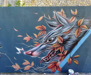 October wolf by SickFace