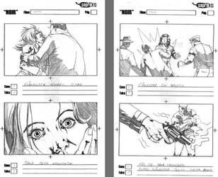 Storyboards - NOIR  9 by vitorgorino