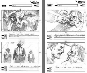 Storyboards - NOIR 5 by vitorgorino