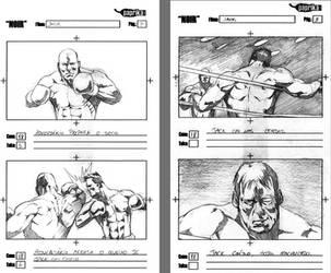 Storyboard - NOIR 4 by vitorgorino