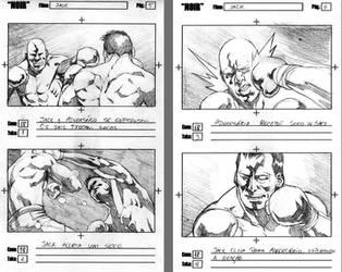 Storyboards - NOIR 3 by vitorgorino
