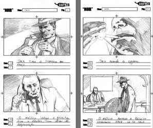 Storyboards - NOIR 2 by vitorgorino