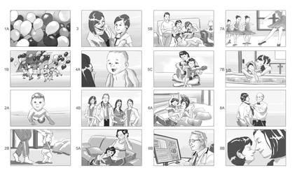 Storyboards - Health Care 1 by vitorgorino