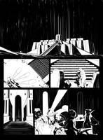 Sci-fi comic page 2 by vitorgorino