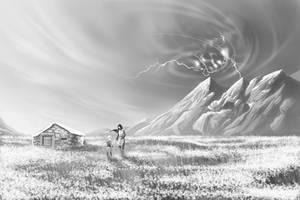 On the horizon by vitorgorino
