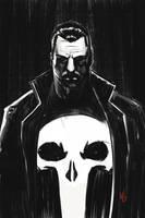 Punisher sketch by vitorgorino