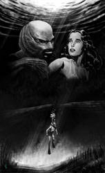 creature from the black lagoon by vitorgorino