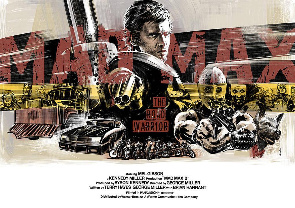 Mad Max - the road warrior by vitorgorino
