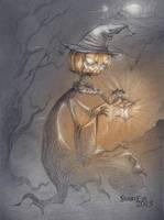 Pumpkin King by SilentEve