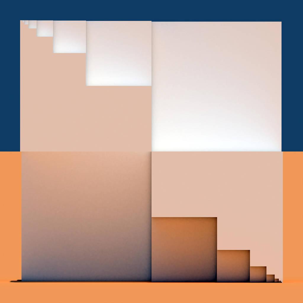 3D Cubic Fractal - VRay by Kit-Elliott