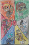 The Marevolent Six and The Infinity Stones by TobiIsABunny