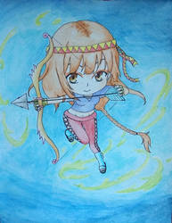 Wind archer by Ethel106