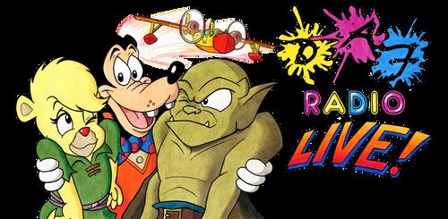 DAF Radio LIVE! at Palm Springs - banner by kenisu3000