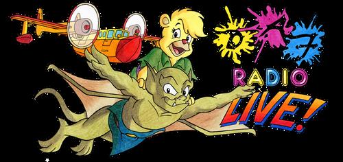 DAF Radio LIVE! at Palm Springs - NEW banner by kenisu3000