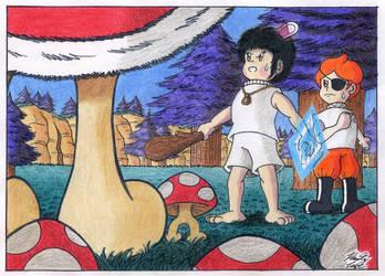 Servants - The Rulin' Toadstool blocked your path! by kenisu3000
