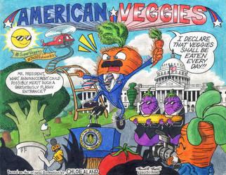 American Veggies by kenisu3000