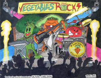Vegetables Rock by kenisu3000