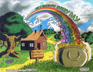 Eat a Rainbow Every Day by kenisu3000