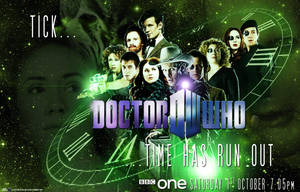 Doctor Who Finale Poster by BrotherTutBar