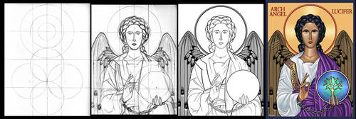 Archangel Lucifer- Progress by TestingPointDesign