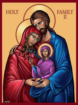 Holy Family II by TestingPointDesign