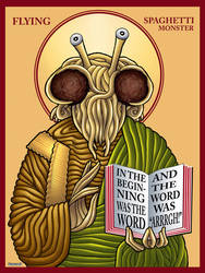 Flying Spaghetti Monster Icon by TestingPointDesign