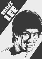 Bruce Lee by astayoga