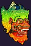 Barong Mask by astayoga