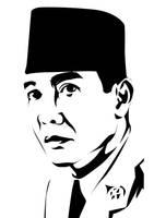 Bung Karno by astayoga