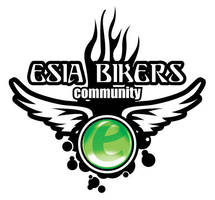 Logo Esia Bikers Community by astayoga