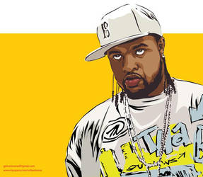 Slim Thug-The Rapper by astayoga