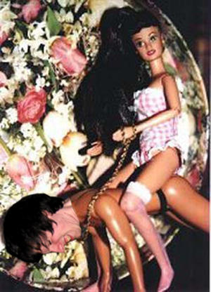 Clearly Barbie having rough sex