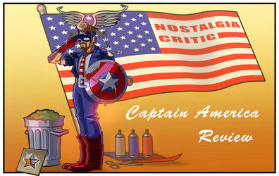 NC - Captain America by MaroBot