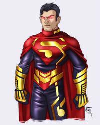 Superman redesign by MaroBot