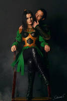 The Trickster (Loki Avengers) by CharlieHotshot