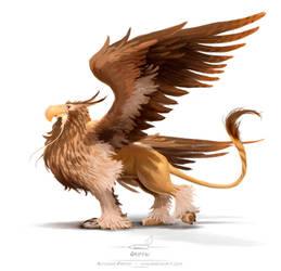 Griffin by pardoart