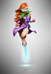 Sci-Fi Daphne by pardoart