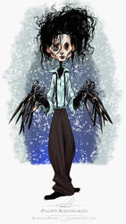 Edward Scissorhands sketch by pardoart