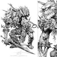 Tolkien's Orc Sketch by pardoart
