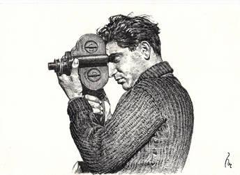 Robert Capa by Trunnec