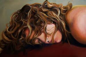 Sleeping Sara by Trunnec