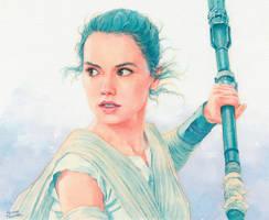 Rey (Star Wars) by Trunnec