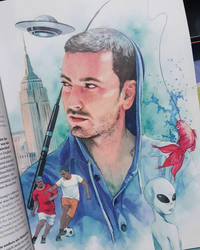 Marteria watercolor illustration. by Trunnec