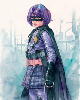 Hit-Girl by Trunnec